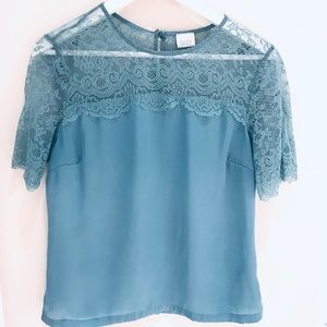 Satin Top Size S